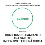 Bonifica dellamianto tra salute, incentivi e filiera corta. Seminario a Confindustria Udine venerd 15 marzo