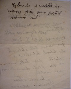 """Lettera da Fiume 1943: """"sono partiti siamo soli"""""""
